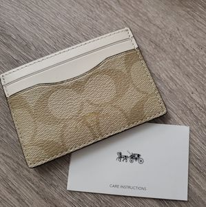Coach Card Case Wallet NWT
